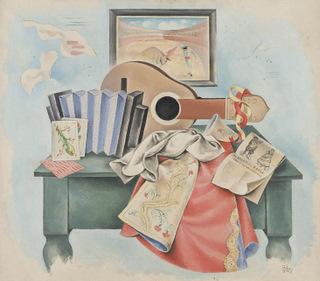 El bodegón de la mandolina 1927
